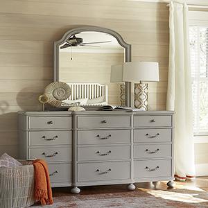 Dogwood Grey Dresser