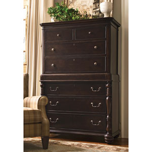 Tobacco Tall Chest