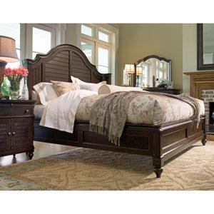 Steel Magnolia Tobacco Complete Queen Bed