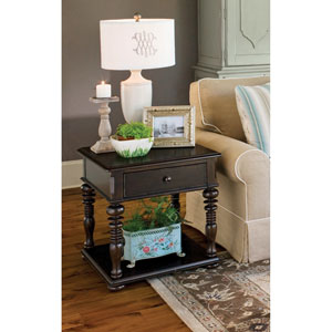 Tobacco Rectangular End Table