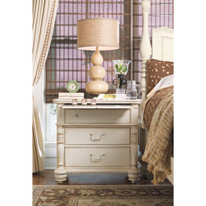 Linen Drawer Nightstand