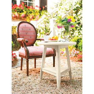 Linen Lamp Table