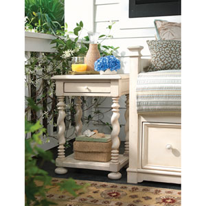 Sweet Tea Side Table, Linen