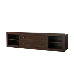 Classics 4.0 Classic Cherry Storage Unit with Side Rail Panel ONLY