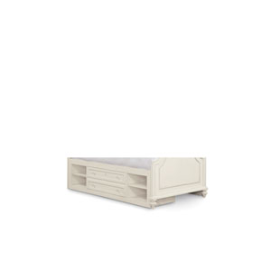 Gabriella Lace Storage Unit with Side Rail Panel