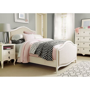 Genevieve French White Genevieves Full Bed Complete