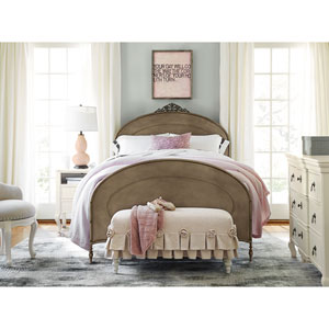 Genevieve Pewter Ma Cherie Full Complete Bed