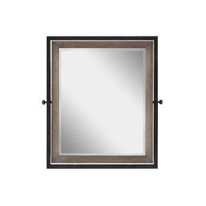 My Room Brown and Black Tilt Mirror