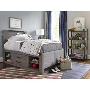 Scrimmage Greystone Storage Unit with Side Rail Panel ONLY