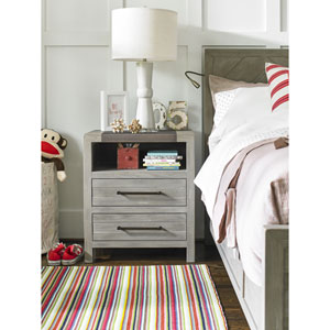 Scrimmage Greystone Nightstand