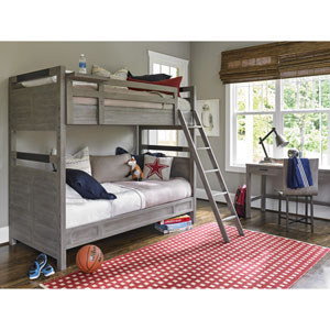Scrimmage Greystone Twin Bunk Bed Complete