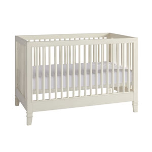 Summer Hill Stationary Crib in Cotton