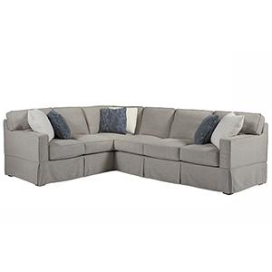 Escape Gray Chatham Right Arm Sofa with Left Arm Corner