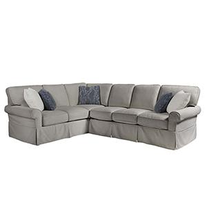Escape Gray Ventura Right Arm Sofa with Left Arm Corner