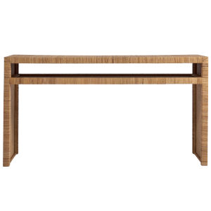 Escape Brown Long Key Console Table