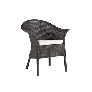 Escape Black Bar Harbor Dining and Accent Chair