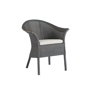 Escape Dark Gray Bar Harbor Dining and Accent Chair
