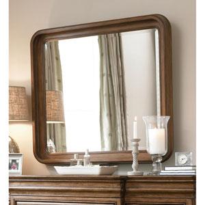 Cognac Landscape Mirror