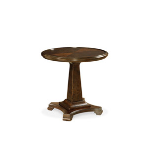 Proximity Espresso Round End Table
