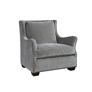 Curated Gray Connor Chair
