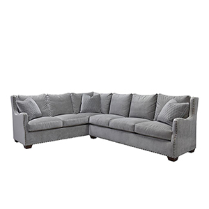 Curated Gray Connor Sectional