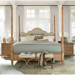 Maison Complete California King Poster Bed