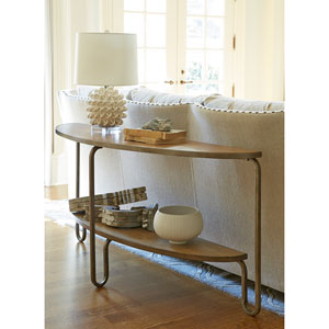 Modern Muse Bisque Console Table