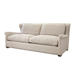 Haven Belgian Linen Sofa