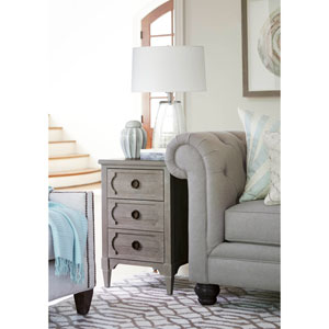 Playlist Grey Chair Side Table