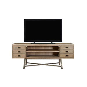Authenticity Khaki Entertainment Console