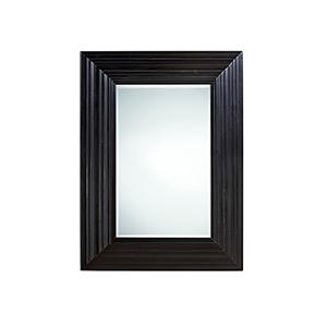 Authenticity Black Portrait Mirror
