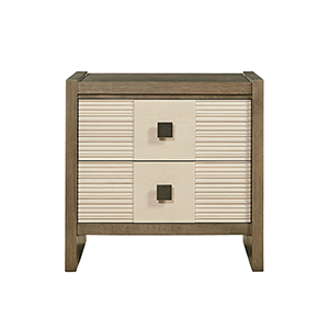 Synchronicity Brown Nightstand