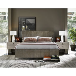 Keaton Charcoal Complete Queen Bed