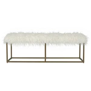 Modern Bronze Bench