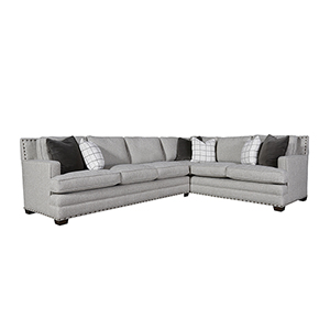 Curated Gray Riley Sectional