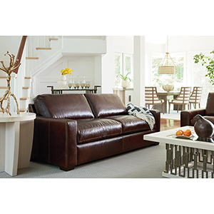 Curated Brown Oliver Two Seat Sofa