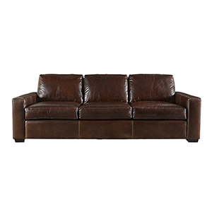 Curated Brown Oliver Three Seat Sofa