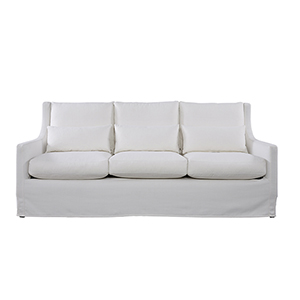 Curated White Sloane Sofa