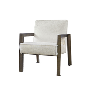 Curated Brown Garrett Accent Chair