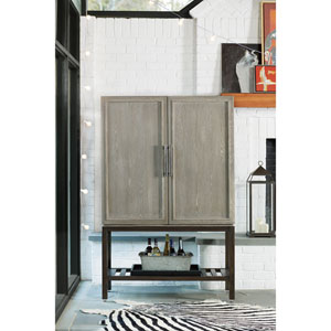 Zephyr Solana and Polaris Bar Cabinet