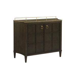 Soliloquy Cocoa Soliloquy Bar Cabinet