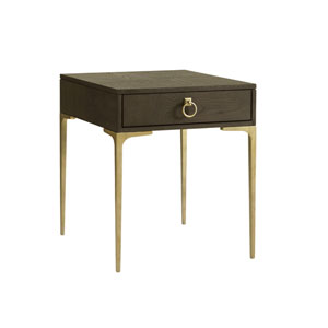 Soliloquy Cocoa Drawer End Table