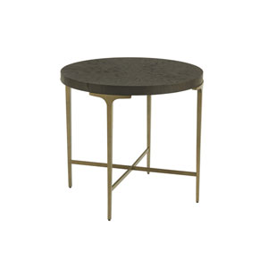 Soliloquy Cocoa Dahlia End Table