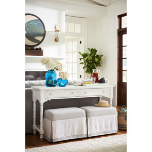 Cottage Console With Benches