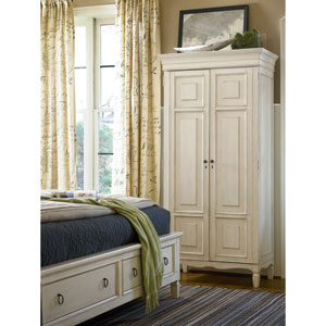 Summer Hill White Tall Cabinet
