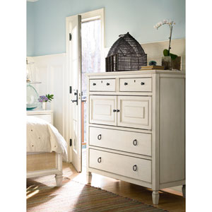 Summer Hill White Dressing Chest