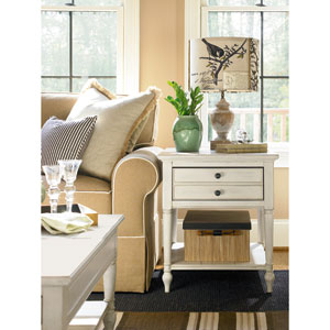 Summer Hill White End Table