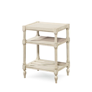 Summer Hill White Chair Side Table