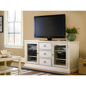 Summer Hill White Entertainment Console