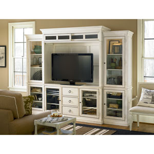 Summer Hill White Complete Entertainment Wall